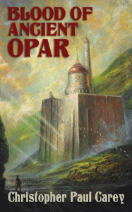 Bob Eggleton's cover to Blood of Ancient Opar
