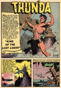 Thun'da by Frank Frazetta and Gardner Fox.