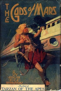 A Thern depicted on the first hardcover edition of The Gods of Mars.