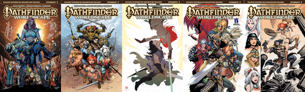 PathFinder: Worldscape #1 Covers