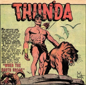 Thun'da by Frank Frazetta and Gardner Fox
