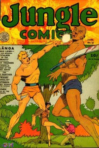 Jungle Comics #13 featuring Kaanga